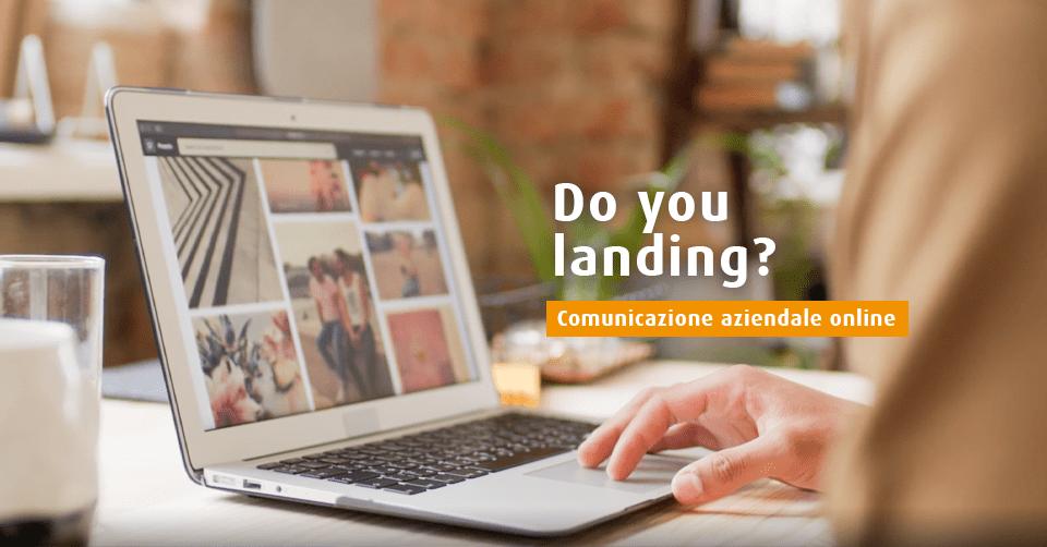 Landing page aziendale
