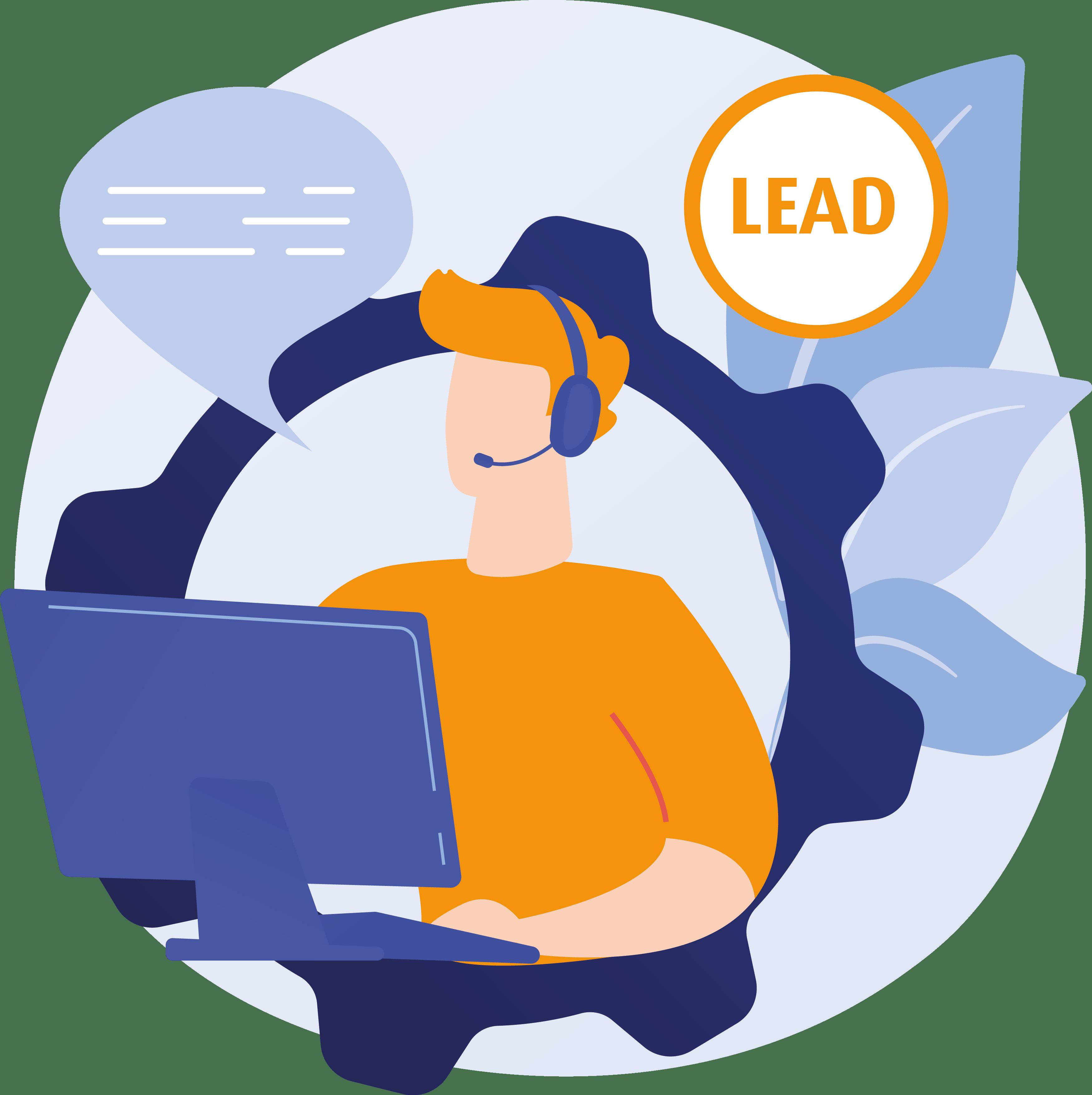 Lead Management Icon