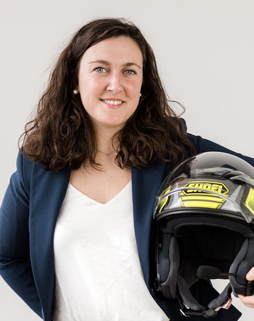Maria Rosa Palmigiano - Passione per le moto