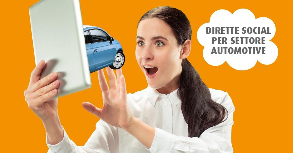Dirette social per settore automotive