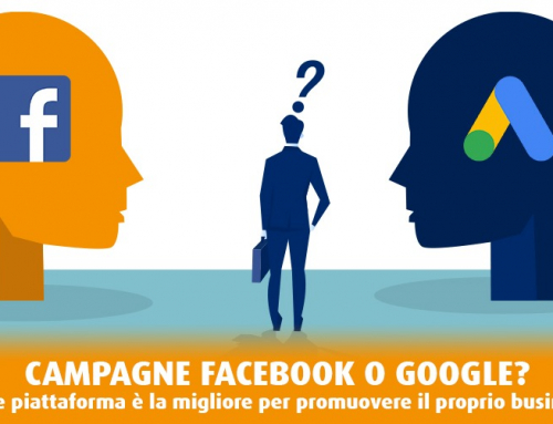 Campagne Facebook o Google: differenze tra due piattaforme