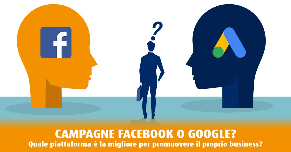 Campagne Facebook o Google